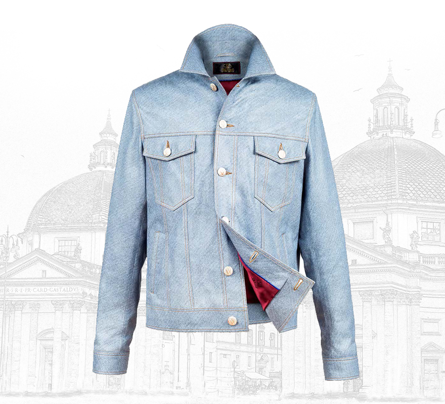 Premium Italian Lambskin Silk Leather Jackets For Men
