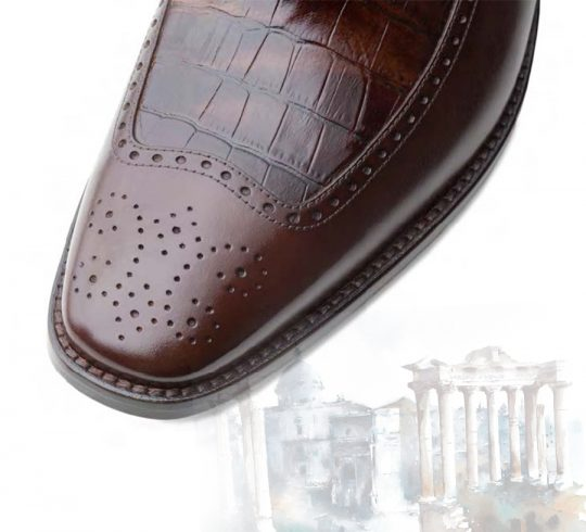 Luxury Calf Skin Leather Shoes For Men