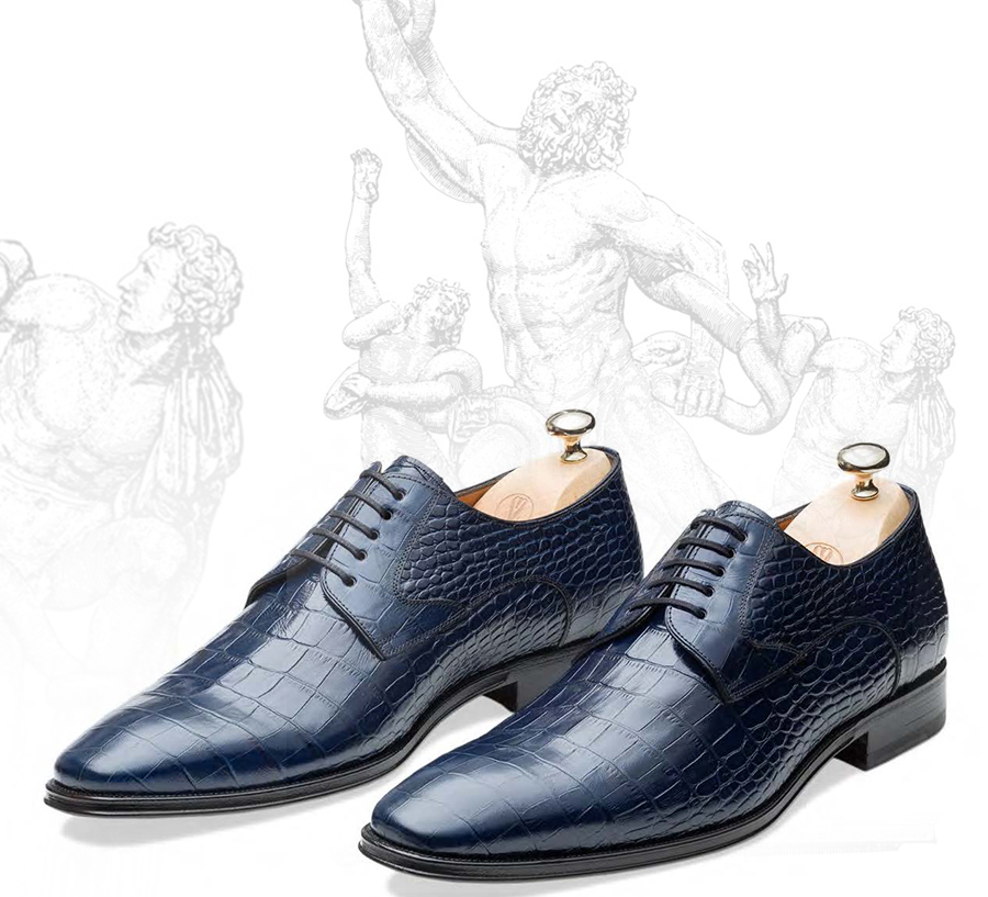 Luxury Calf Skin Leather Men's Shoes