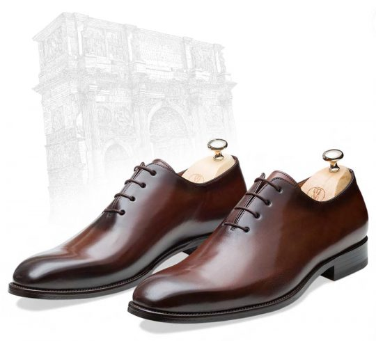 Handcrafted Calf Skin Leather Shoes For Men